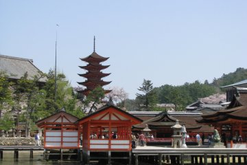 Храм Ицукусима на острове Миядзима