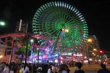 Парк развлечений Cosmo World в Йокогаме