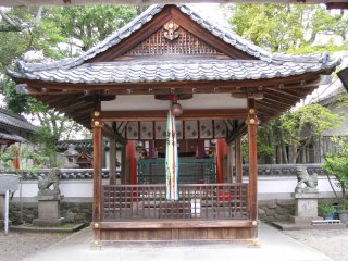 A small shrine in Nara
