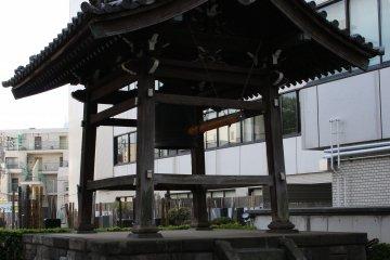 Tenryuji Temple's Toki no Kane bell tower.