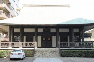 The main hall of Tenryuji Temple
