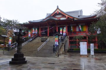 Main hall of Meguro Fudoson