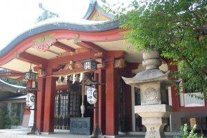 Main hall of Shinagawa Shrine