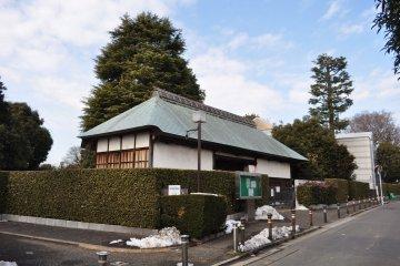 The nagayamon gate at the Suginami Folk Museum