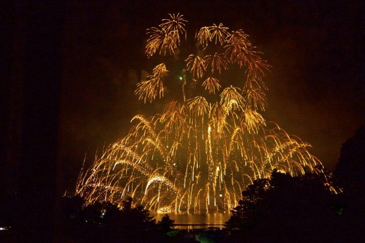 Lễ hội pháo hoa trên nước Miyajima