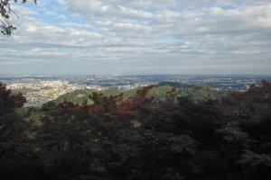 Прогулка в окрестностях Такао
