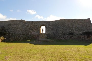 Nakagusuku Castle Ruins is a UNESCO World Heritage Site