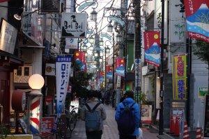 Daytime stroll around Koenji's many shotengai