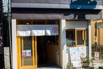 Visit local shops, like Ippukutou