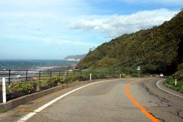 Conduciendo por la península Noto