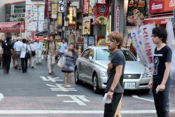 <p>Street view around the Yodobashi Camera complex</p>