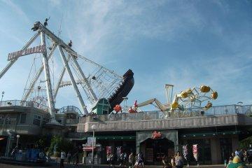 Rides at Toshimaen Amusement Park