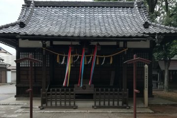 The main building of the shrine