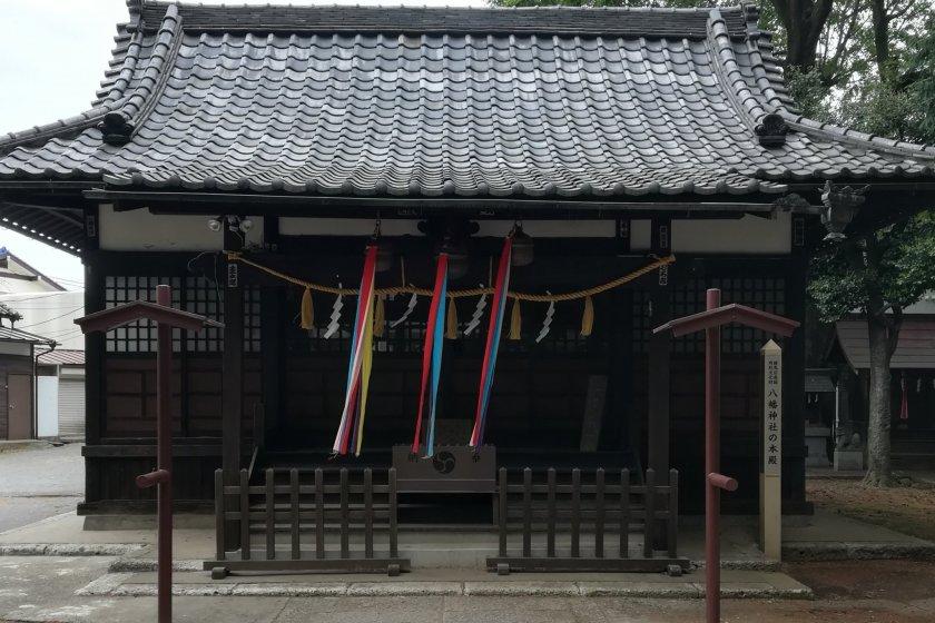 The shaden main building of the shrine