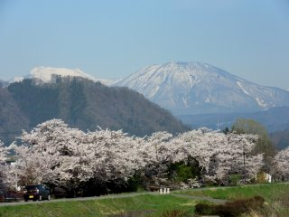 A view of Yudanaka