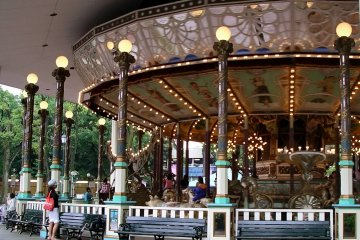 The world's oldest carousel ride