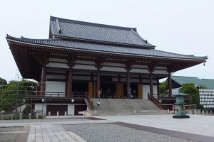 Nishiarai Daishi Temple in Adachi City, north Tokyo