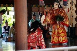 Shrine drama