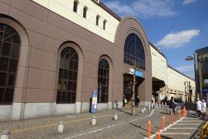 South entrance to Komae Station