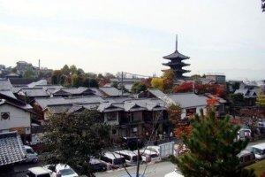 高台寺上看京都