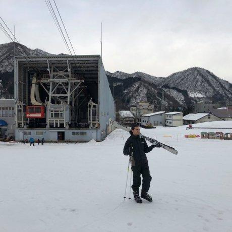 First Time Skiing in Yuzawa