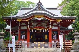 Minamisawa Hikawa Shrine, Higashikurume City