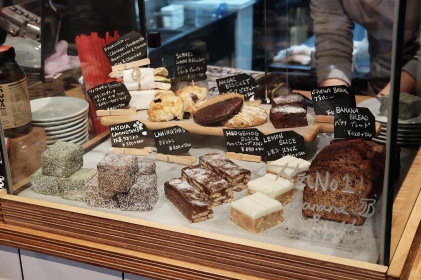 Sweet treats on offer