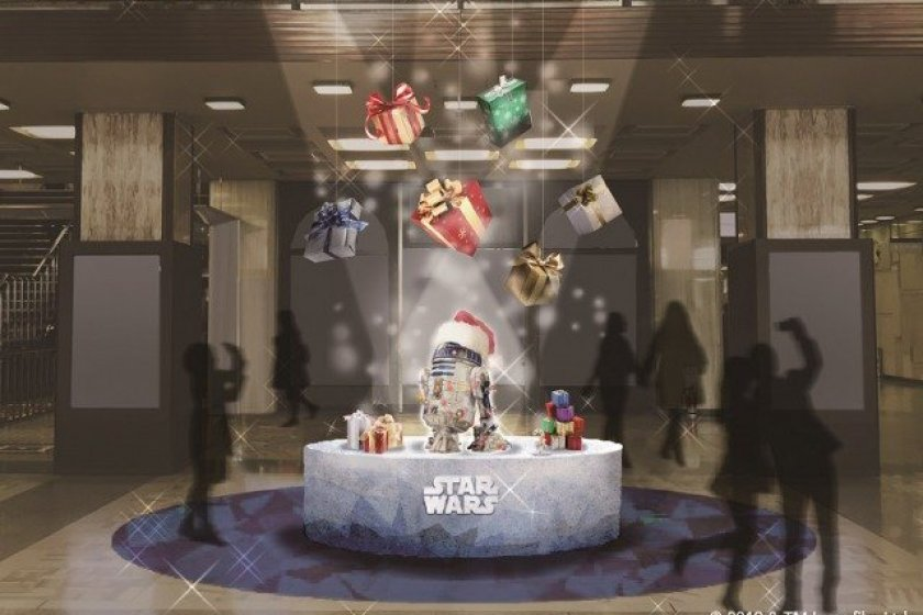 R2-D2 Santa is quite possibly the cutest Santa