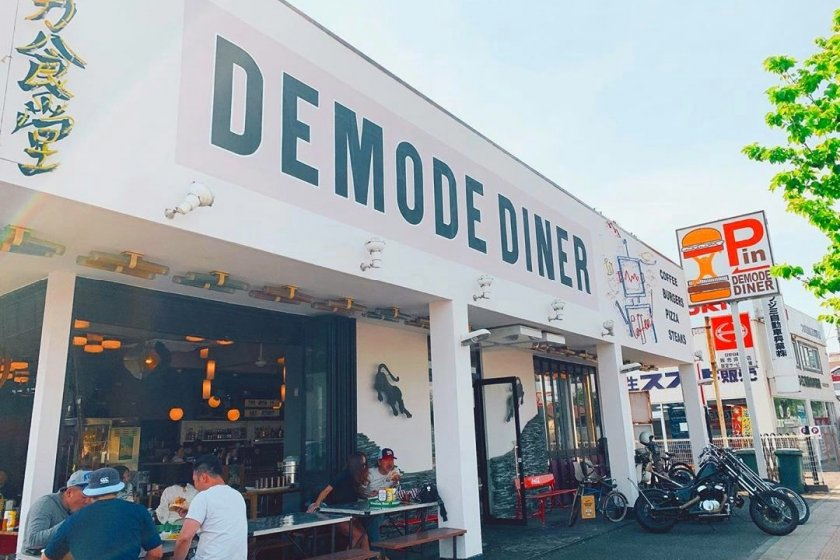 The retro diner vibes can be felt as soon as you arrive