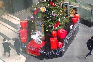 Christmas tree Hikarie Shibuya