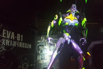Full replica of Unit-01