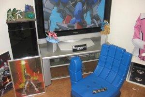 Inside the Osaka Gundams store
