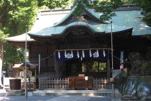 Yaho Tenmangu Shrine, Kunitachi City