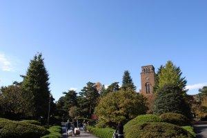 Hitotsubashi University, Kunitachi City