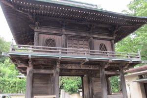 Tower Gate of Musashi Kokubunji, Kokubunji City