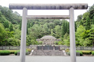 Musashi Imperial Graveyard, Hachijoji City