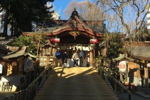 Koyasu Shrine, Hachioji City