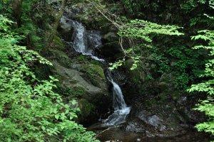 Shiraiwa Falls, Hinode Town