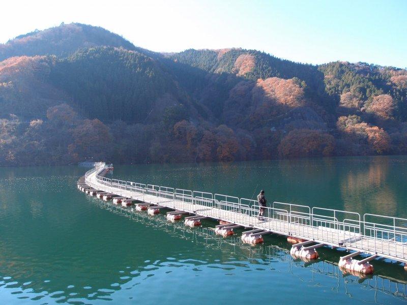 Mugiyamauki Bridge, Okutama Town