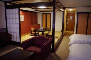 Mixed style room for 6 people at maximum at Heian no Mori Hotel Kyoto