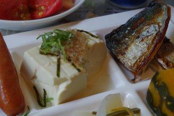 Tofu is a signature dish of Kyoto