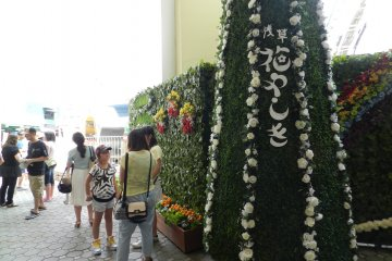 <p>The park maintains a lot of elements of its history as a flower park.</p>