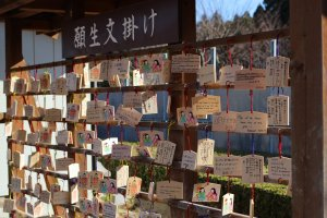 """Ema"" prayer plaques at New Year"