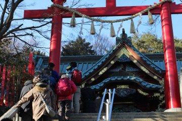 Geikosai at Yakuoin Mt Takao