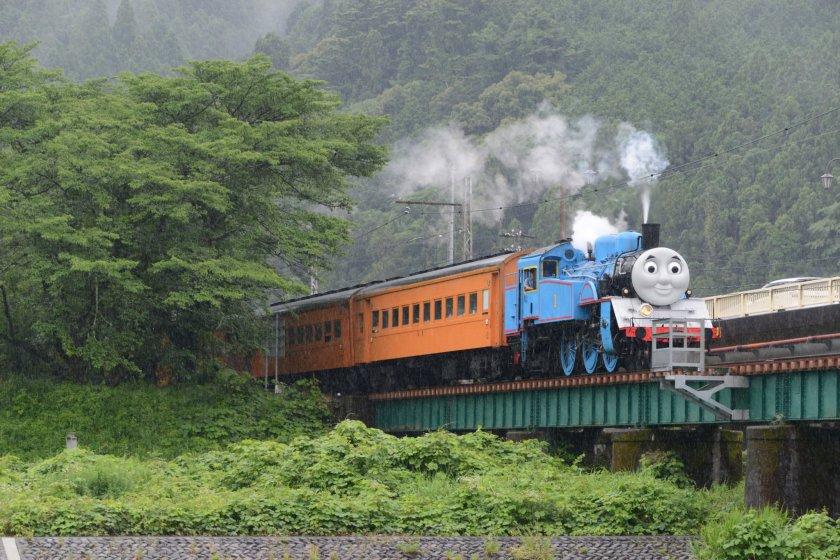Passeio com o Thomas