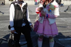 Visual kei and lolita fashion