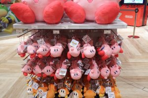 Kirby is ready and waiting to swallow your wallet