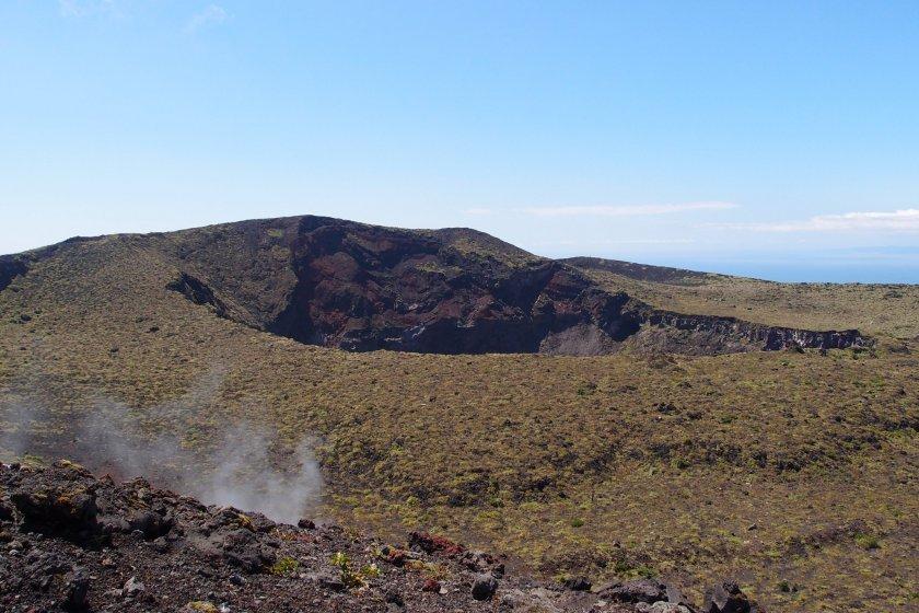 Mt. Mihara crater, Oshima Island