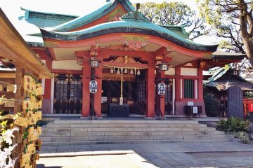 See the sunrise at Shinagawa Shrine and pray on the first day of 2020
