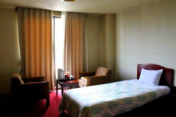 코후 시의 호텔 '유오우 온센'